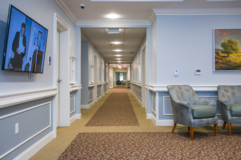 Grand Oaks of Palm City Hallway