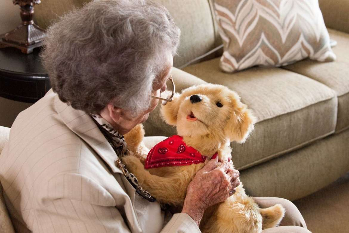 Robotic Pets for Seniors Help Ease Dementia and Loneliness